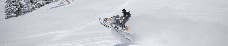 snowmachining photo